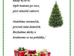 Vojtěch ptáček - vánoční básnička